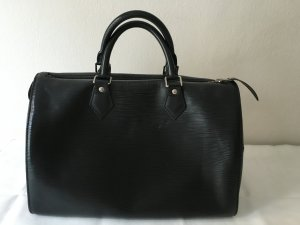 LOUIS VUITTON SPEEDY 35 EPI LEDER, SCHWARZ