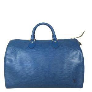 Louis Vuitton Speedy 35 Epi Leder Toledo Blau Tasche Handtasche