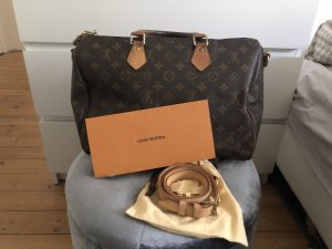 Louis Vuitton Speedy 35 Monogram Bandouliere Tasche Crossbody