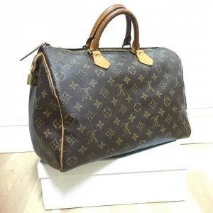 Louis Vuitton Borsetta marrone-marrone chiaro
