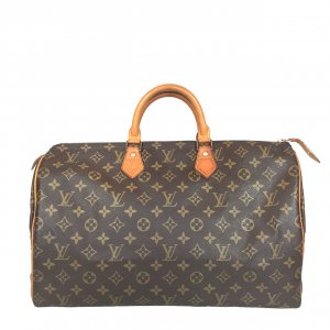 Louis Vuitton Speedy 40 Monogram Canvas Tasche, Handtasche, Henkeltasche