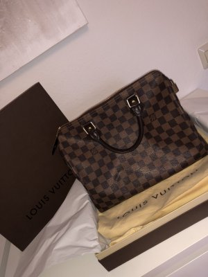Louis Vuitton Speedy Damier Ebene Canvas
