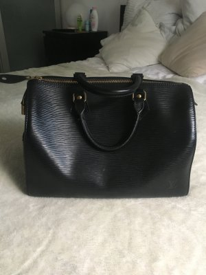 Louis Vuitton Sac Baril noir cuir