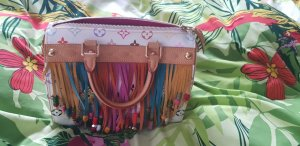 louis vuitton speedy limited multicolor tasche bag fringe
