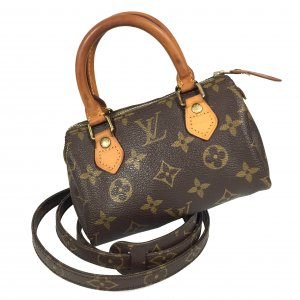 Louis Vuitton Speedy Mini HL Monogram Canvas Tasche Handtasche