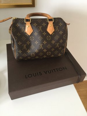 Louis Vuitton Sac à main brun-brun sable cuir