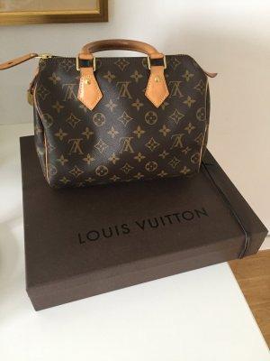 Louis Vuitton Handbag brown-sand brown leather