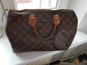 Louis Vuitton Borsa con manico marrone scuro