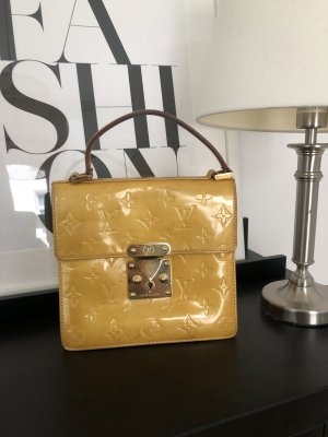 Louis Vuitton Spring Street Geld Lackleder Original