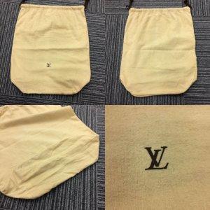 Louis Vuitton Bolso de tela marrón arena