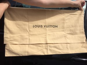 Louis Vuitton Bolso de tela marrón arena