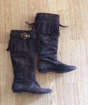 Louis Vuitton Hoge laarzen donkerbruin