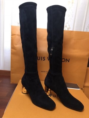 Louis Vuitton Bottes stretch noir