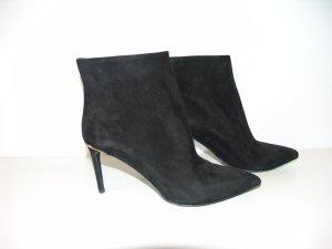 Louis Vuitton Bottines noir daim