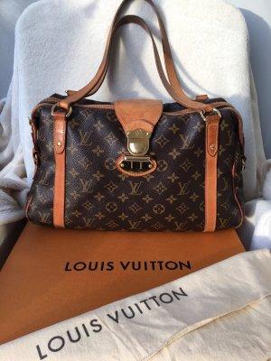 Louis Vuitton Schoudertas donkerbruin-lichtbruin