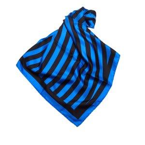 Louis Vuitton Striped Silk Scarf