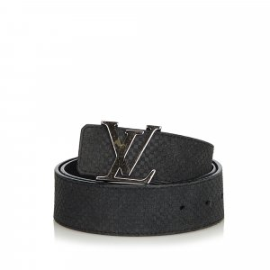 Louis Vuitton Suede Initiales Belt