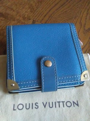 Louis Vuitton Suhali Compact Zipper Geldbörse Portemonnaie