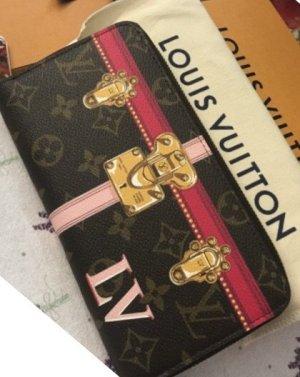 Louis Vuitton Cartera marrón-magenta