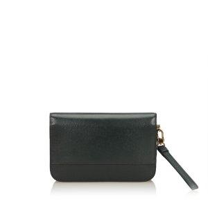 Louis Vuitton Bolso de mano negro Cuero