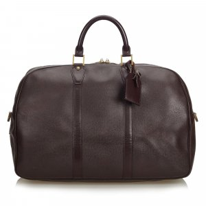 Louis Vuitton Reistas bordeaux Leer
