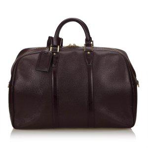 Louis Vuitton Sac de voyage violet cuir