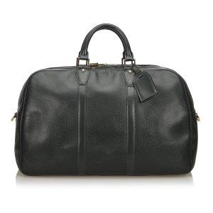 Louis Vuitton Reistas donkergroen Leer