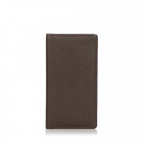 Louis Vuitton Taiga Porte-Cartes Credit Yen Wallet