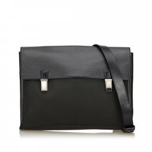 Louis Vuitton Sac bandoulière noir nylon