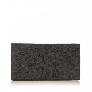 Louis Vuitton Wallet black leather