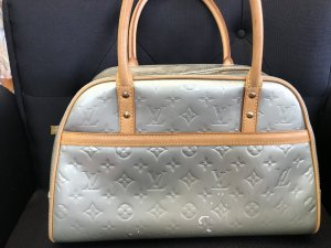 Louis Vuitton Sac à main gris vert-rose chair