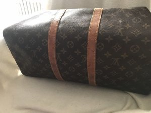 Louis Vuitton Borsa da weekend marrone Pelle