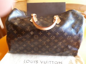 Louis Vuitton Shopper brun cuir