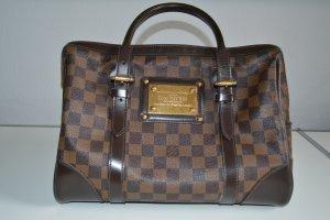 Louis Vuitton Handtas bruin Leer