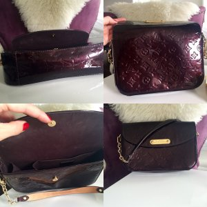 Louis Vuitton Tasche bordeaux/gold
