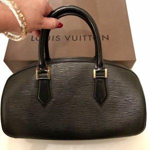 Louis Vuitton Bolso negro-color oro