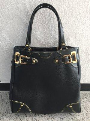 Louis Vuitton Tasche Leder schwarz