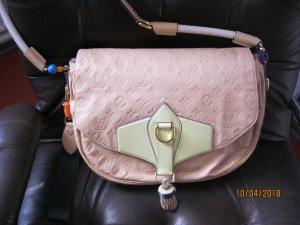 Louis Vuitton Sac bandoulière rose chair-crème cuir