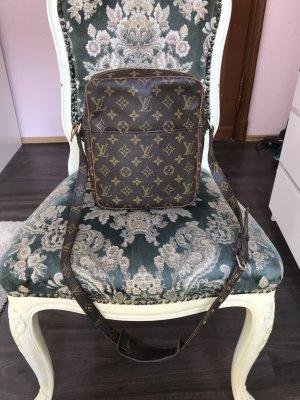 Louis Vuitton Bandolera ocre-marrón oscuro