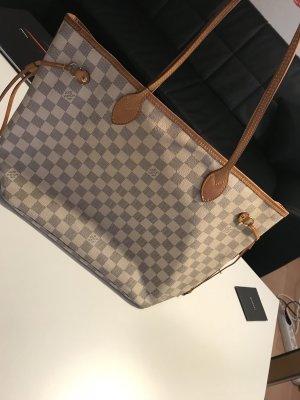 Louis Vuitton Handtas wit-lichtbruin