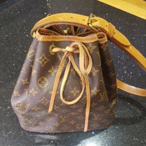 Louis Vuitton Tasche Petit Noe beige Braun vintage