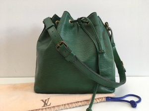 Louis Vuitton Borsellino verde bosco Pelle