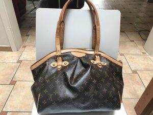 Louis Vuitton Sac Baril brun foncé-brun