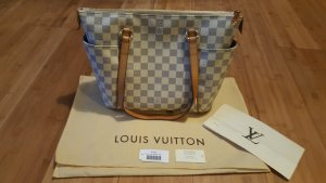 Louis Vuitton Totally PM Damier Azur Original + Rechnung + Staubbeutel,Kärtchen