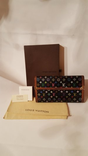 Louis Vuitton Tresor Multicolor Schwarz