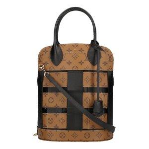 Louis Vuitton Sac à main brun foncé-brun