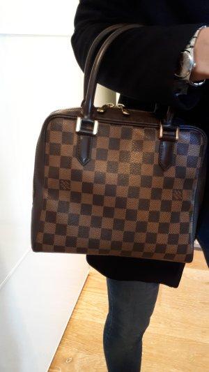 Louis Vuitton Borsetta marrone scuro-beige