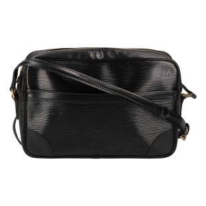 Louis Vuitton Bandolera negro-color oro Cuero