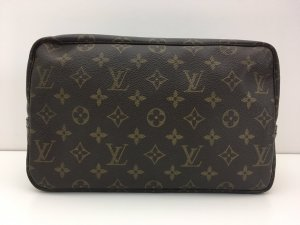 Louis Vuitton Borsa clutch marrone Finta pelle