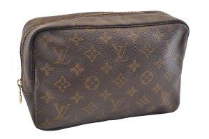 747fb480582c7 Louis Vuitton Pochette brun fibre textile